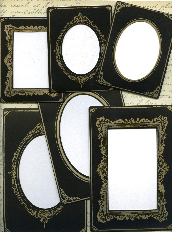 Ideaology PAPER CABINET FRAMES - Paper Photo Frames - Vintage Photo ...