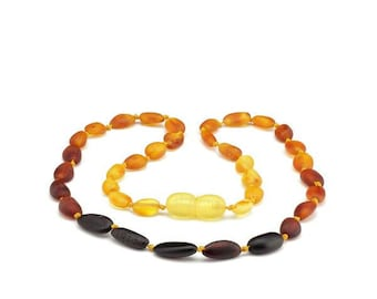 Amber Teething Necklace for Baby // Teething Necklace // Baltic Amber // Amber Jewelry // Baby Amber // Teething Necklace