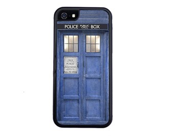 Doctor Who Tardis Case For iPhone 5/5s, 5c, 6/6s, 6/6s Plus, 7, 7 Plus, 8 or 8 Plus. Tardis iPhone case, Dr Who iPhone case.