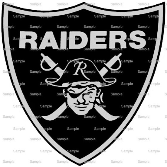 Raiders Mascot Birthday - Edible Cake and Cupcake Topper For Birthday's and Parties! - D951