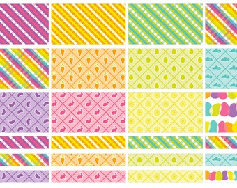 Easter BOLD half box stickers (planner stickers)