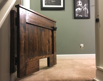 Custom Wood Baby Gate
