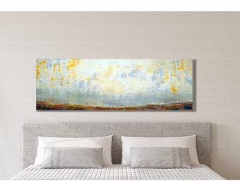 Minimalist Wall Art, Landscape, Extra Large Wall Art, Large Landscape, Horizontal  Wall