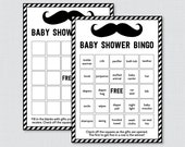 Mustache Baby Shower Bing...
