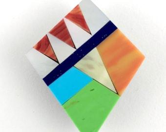 Kite Needle Minder, Kite Needle Keeper Small Kite Magnet, Shell Kite Magnet, Shell Needle Minder, Kite Shell Magnet Needle Keeper