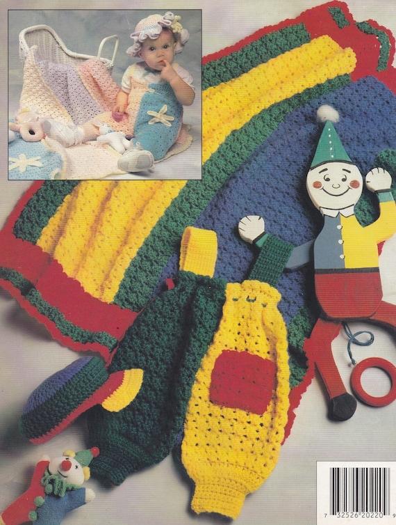 Häkeln Sie Jolly Jumper Annie Dachboden Muster Booklet 87J22