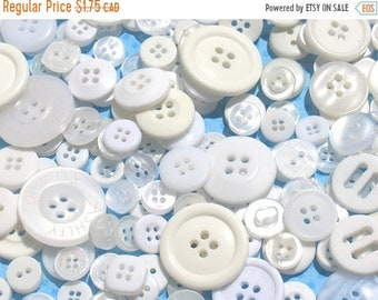 50% OFF - Vanilla White Purple - Button Selection