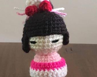 Kokeshi Doll - Pink