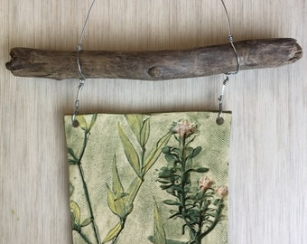 Textured Porcelain Wall Hanging