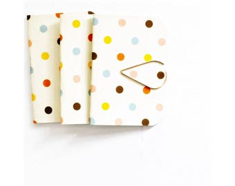 Mini Blank Books {3} Confetti Dots | Mini Notebooks | Mini Journals | Confetti Blank Books | Wedding | Mothers Day Gift | Gift under 10
