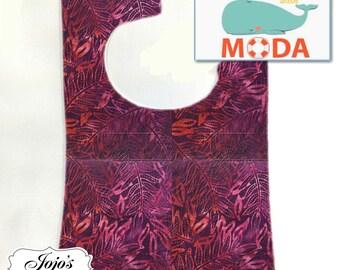 Tie Dye Baby Bib, Red Magenta, Size: newborn to twelve months SKU #JJQS107