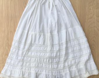 Antique Women's Petticoat