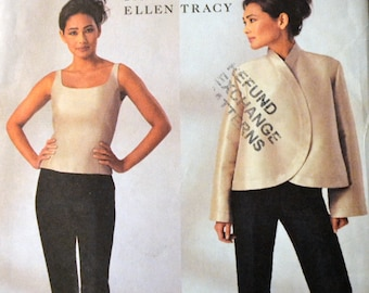 Sewing Pattern Butterick 3916 Misses' Top, Jacket, and Pants Bust 38-44 inches UNCUT Complete Uncut