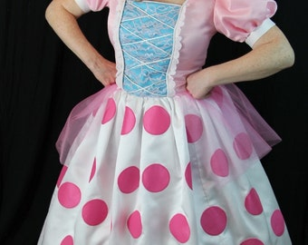Toy Story-Inspired Bo Peep - Dress, Drawers, and Bonnet