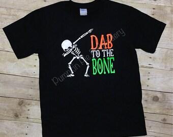 Dab to the bone - Halloween - Skeleton