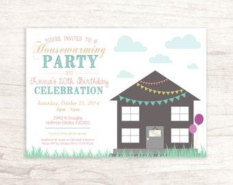 Fun Housewarming / Birthday Invitation