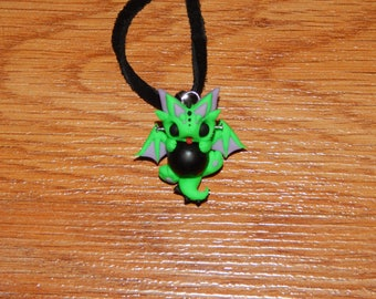 Frankenstein Dragon Necklace
