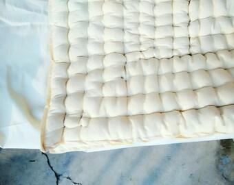 Organic duvet / organic comforter / organic quilt - handmade quilt