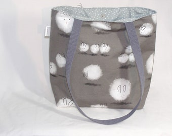 Dust Bunnies Project Tote - Premium Fabric