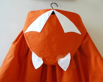 From riffifi at fairies: Foxy Lady! Cape with Fox head, from 2 years in T.U.