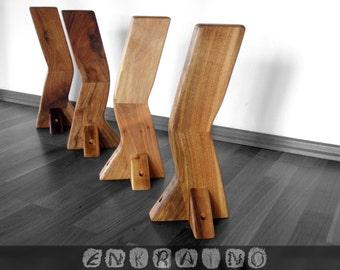 Coffee Table Legs/Solid Wood Furniture/modern Table Legs/small Coffee Tables /