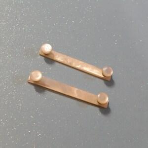 Mother-of-pearl Pins - vintage dress brooch