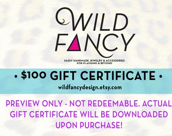 Gift Certificate - 100 bucks