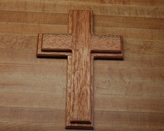 Wooden two layer cross