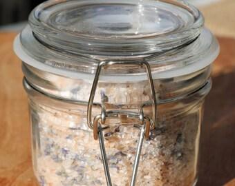 Lavender + Ylang Ylang Salt Soak