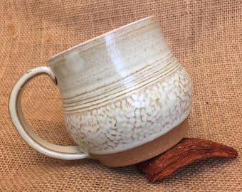 Ready to ship! One of a kind handmade ceramic coffee mug!