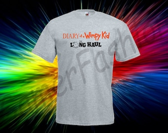 Diary of a Wimpy Kid the long haul  Men's, Women's T-shirt