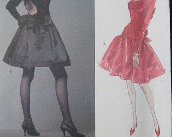 Vogue Paris Original Dress Pattern Givenchy 2806