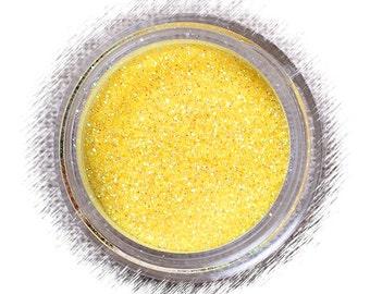 Yellow Rainbow Disco Glitter, Non Edible Confectionary Glitter, Fondant Glitter, Gumpaste Glitter, Decorative Glitter (5g)