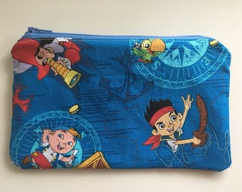 Reusable Snack Bag, Kid Snack Bag, Jake Pirates