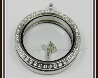 Tinkerbell Floating Charm for Glass Locket / Floating Locket / Memory Locket