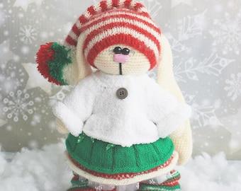 Christmas set for Bunny Doll