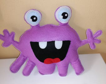 SURPRISE CUTE MONSTER, ready to ship, gift idea, felt puppet, cute, monster, collection