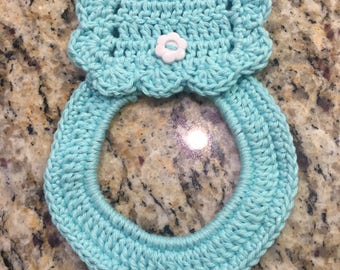 Crochet Towel Ring
