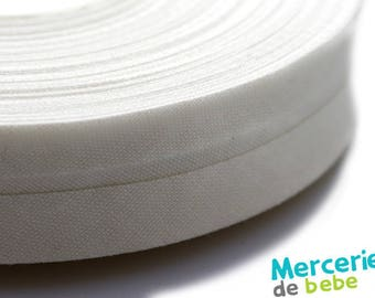 Through 20 mm - ivory plain - by the yard