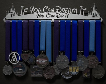 If You Can Dream It, You Can Do It - Allied Medal Hanger Holder Display Rack