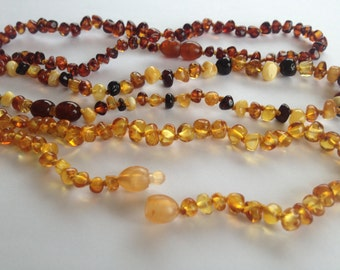 Baltic Amber teething&children necklace 15 % off