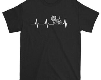 Cute Westie Print Awesome Westie Mom Westie Rescue Westie Foster Parents Unique Westie Heartbeat Unique Heartbeat