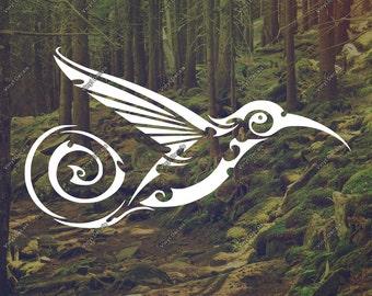 Bird Decal - Mockingbird Decal - Mockingbird Sticker - Bird Car Decal - Bird Window Decal - Bird Wall Art - Bird Decor - Bird Decoration