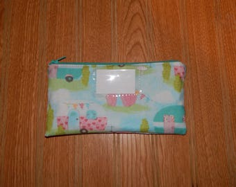 RTS - Cash Budgeting System - Budgeting Envelope - Fabric Budgeting Envelope - Zippered Envelope - Money Envelope - Ready to Ship