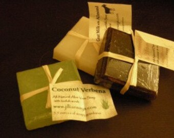 Medium Scrub - All-natural vegetable soap