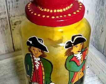Colonial Fife and Drum-Glass Art