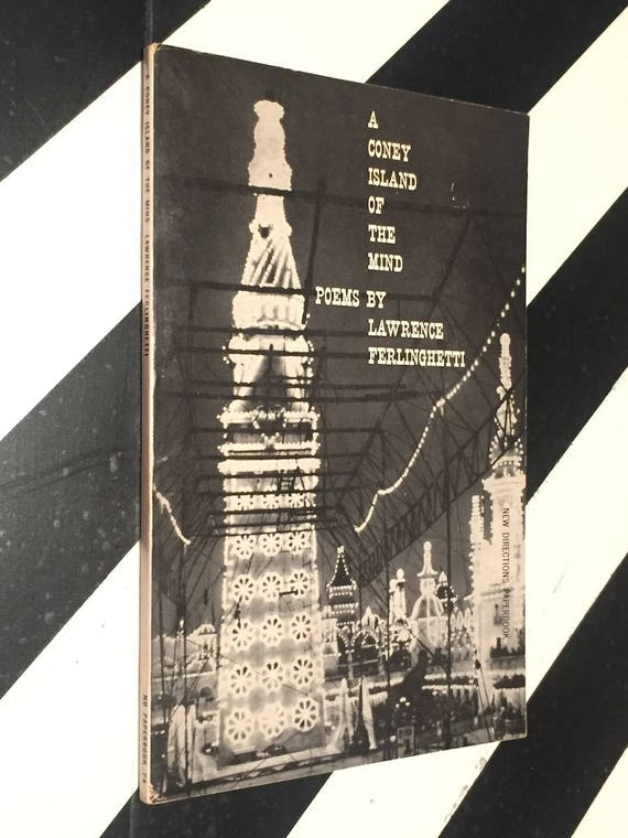 A Coney Island of the Mind by Lawrence Ferlinghetti (1958) paperback book