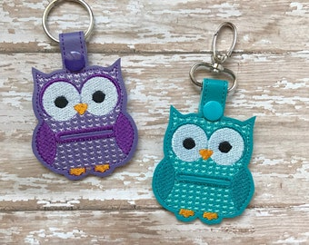 Aldi Quarter Holder, Aldi Keychain, Owl Quarter Holder, Aldi Key Chain, Aldi Quarter Keeper, Snap Tab, Key Fob---70 Colors