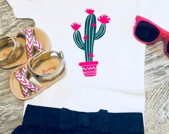 Boho Cactus onesie
