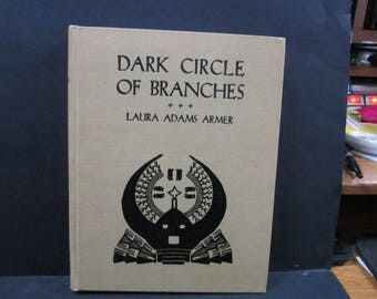 First edition Navaho story book dark circle of branches